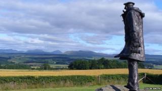 David Stirling statue