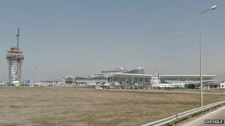 Sofia Airport, Bulgaria