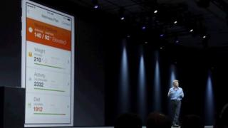Apple senior vice president of Software Engineering Craig Federighi speaks about the Apple HealthKit