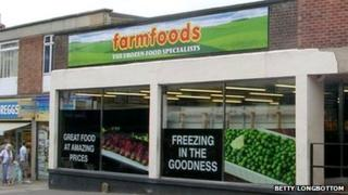Farmfoods store