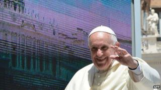 Pope Francis in Rome