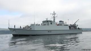 HMS Penzance. Pic: Royal Navy