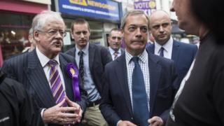 Roger Helmer and Nigel Farage