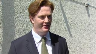 Treasury minister Danny Alexander