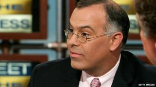 David Brooks on the set of Meet the Press in 2007