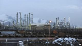 File picture of Iran's heavy water nuclear facility near the central city of Arak