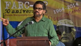 Ivan Marquez, Farc commander, Havana, 27 May 14