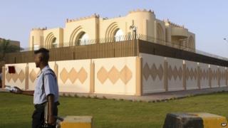 Taliban office in Doha (June 2013)