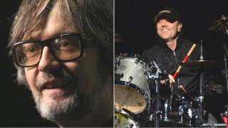 Jarvis Cocker/Lars Ulrich of Metallica
