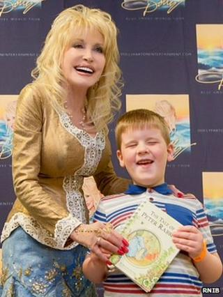 Dolly Parton and Dylan Manifold