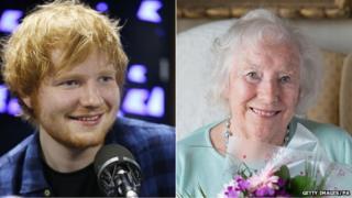 Ed Sheeran/Dame Vera Lynn