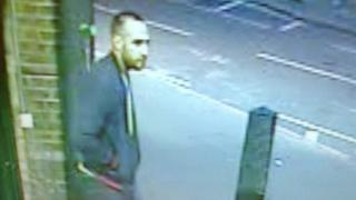CCTV of a man who police wish to trace