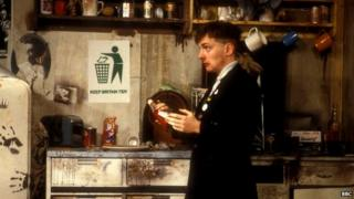 Rik Mayall in The Young Ones
