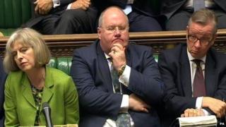 Theresa May, Eric Pickles and Michael Gove