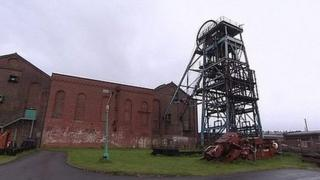 Haig Colliery in Whitehaven
