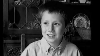 Jonny Scaramanga at 12-years-old