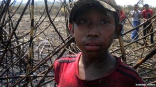child sugar worker in Guatemala