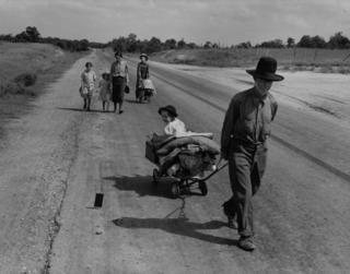 Family in Oklahoma in 1935