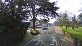 Lower Road and East Street junction in Great Bookham