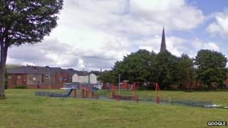 Playing fields in Blackburn