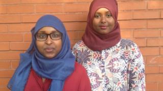 Muna Hassan and Ifrah Hassan