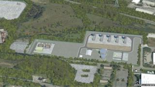 Indicative image of similar project at Hirwaun