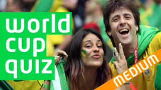 World Cup Quiz Medium