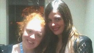 Kelly Webster and Lauren Thornton