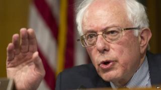 Senate Veterans Affairs Committee Chairman Bernie Sanders appeared in Washington on 15 May 2014