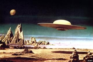 Scene from the film Forbidden Planet