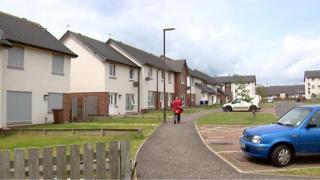 Gorebridge's Newbyres Crescent