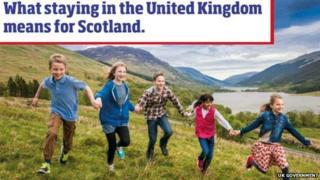 UK government leaflet