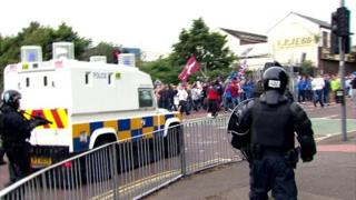 Belfast rioting