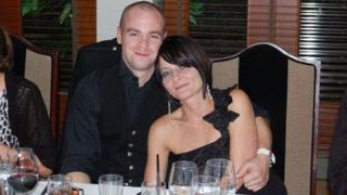 Iain MacDonald and fiancee Christine Patient