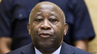 Laurent Gbagbo in The Hague. File photo