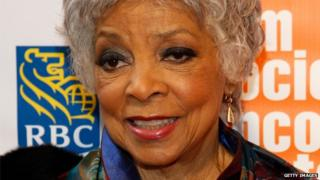 Ruby Dee appeared in New York on 2 May 2011