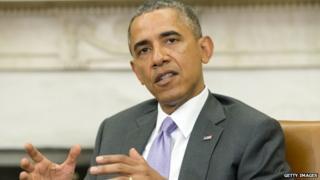 US President Barack Obama appeared in Washington DC on 12 June 2014