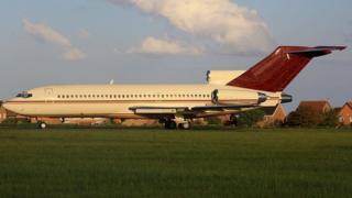 Gordon Getty's plane