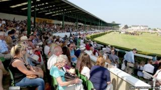 Crowd at Great Yorkshire Show