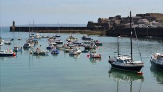 St Peter Port Harbour in Guernsey