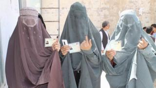 Election day in Kandahar
