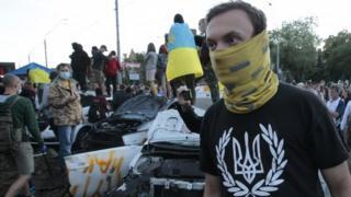 Ukraine crisis: Russia condemns attack on Kiev embassy