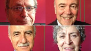 Prof Philip Resnick, David Lunny, Dr Laurie Anderson and Alma Lee are four of the voice in the radio programme