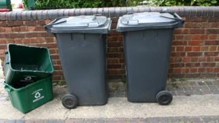 Wheelie bins and boxes