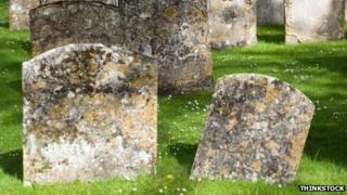 Gravestones. Pic: Thinkstock