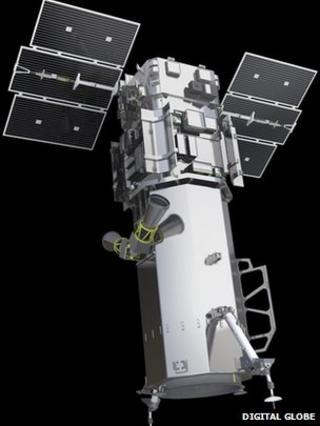 Worldview-3 satellite