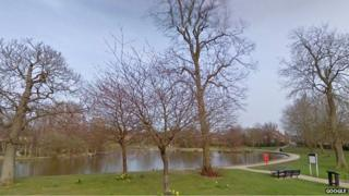 Hailsham pond