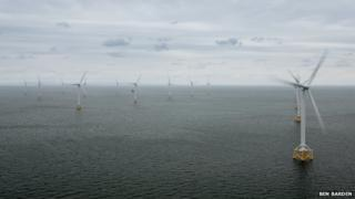 Ormonde offshore wind farm