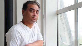 Ilham Tohti in Beijing on 12 June 2010.