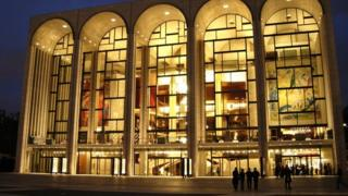 The Metropolitan Opera House in New York, New York, in 2004